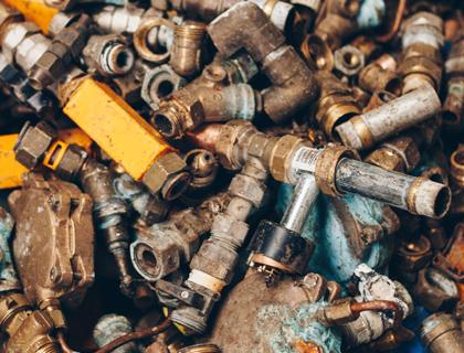 Veluwse Metaal Recycling | Geel koper