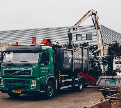 Veluwse Metaal Recycling Ammie de Vries   Ophaalservice