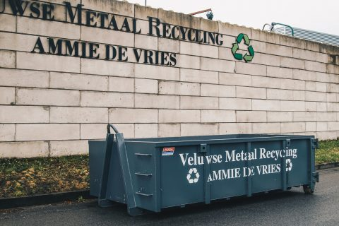 Veluwse Metaal Recycling | 8m³ open container