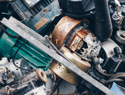 Veluwse Metaal Recycling | Elektromotoren